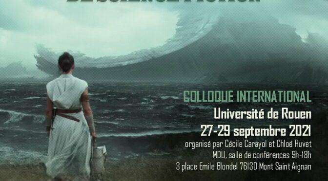 Errances et angoisses du troisième type : à l'écoute des bandes-son de science-fiction – 27-29 septembre 2021